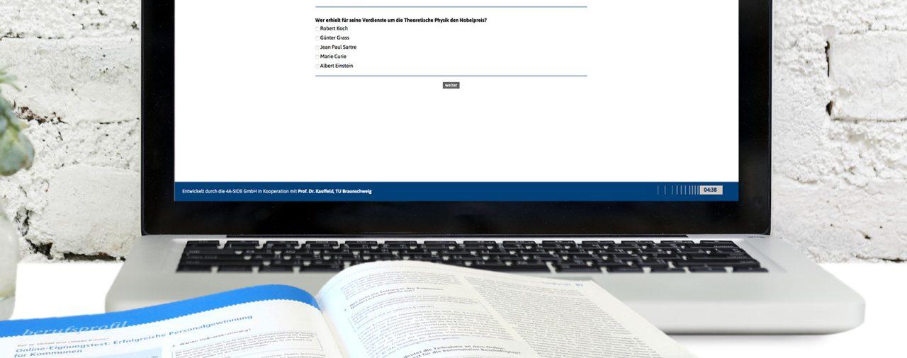 Artikel zum <br>Online-Eignungstest</strong>:<br><strong>Erfolgreiche Personal-<br>gewinnung für Kommunen</strong>