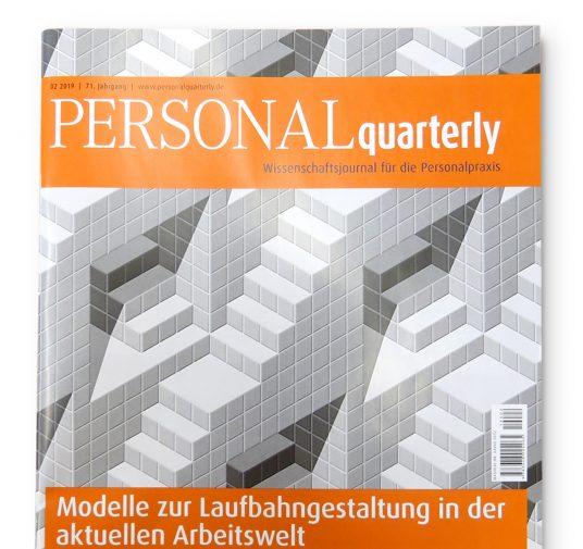 Aktuelle Ausgabe der PERSONALquarterly: <strong>Modelle zur Laufbahngestaltung</strong>