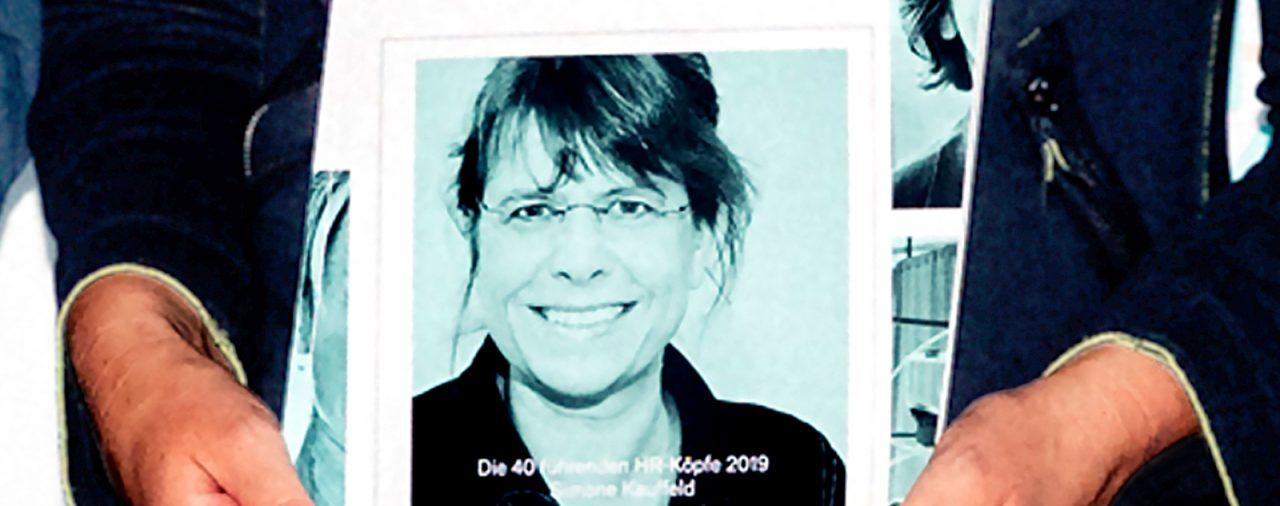 """<strong>Die """"40 führenden HR-Köpfe 2019""""</strong><br>Eine Auszeichnung für<br>Prof. Dr. Simone Kauffeld"""